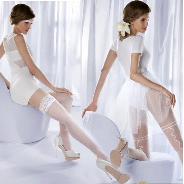 Dla panny m�odej: po�czochy i rajstopy Gabriella