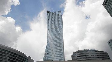 Apartamentowiec Złota 44, zaprojektowany przez Daniela Libeskinda