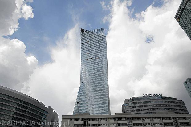 09.06.2013 Warszawa . wysokosciowiec Zlota 44 -