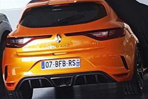 Renault Megane RS | Pierwsze zdjęcia z przecieku!