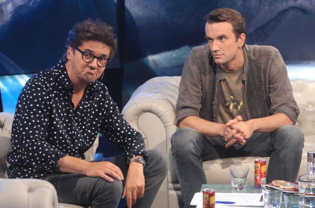 Kuba Wojewódzki i Tomasz Kot