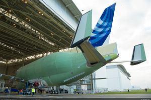 Pierwszy Airbus BelugaXL zjechał z linii produkcyjnej