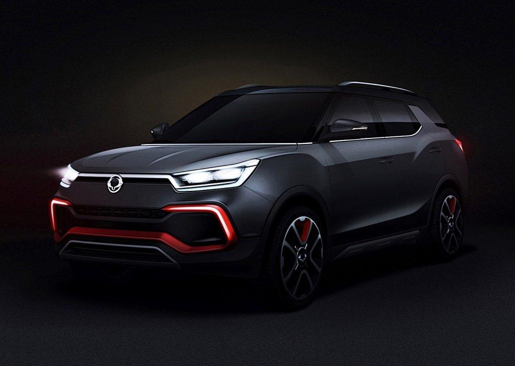 SsangYong XLV Air Concept