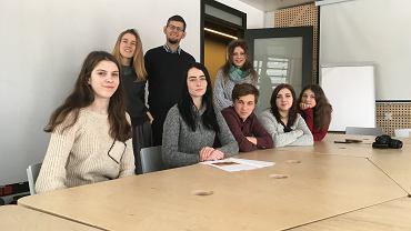 Młodzież z Czerniachowska na warsztatach w Europejskim Centrum Solidarności