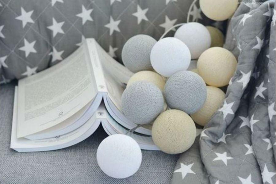 Designerskie O Wietlenie Cotton Balls I Nietypowe Lampy