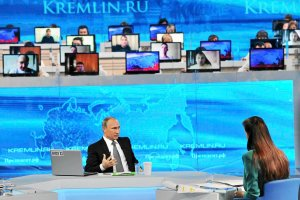 Putin-show w telewizji