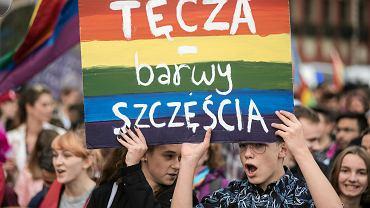 Marsz Równości we Wrocławiu w 2017 r.