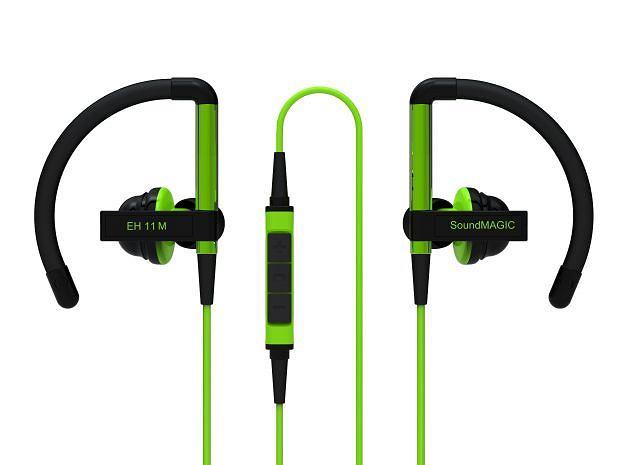 Słuchawki dla aktywnych: SoundMagic EH11M. Cena: 249 zł