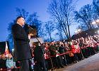 Zatrzymano 40-latka z nożem. Miał odezwę do prezydenta Andrzeja Dudy