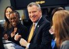 Burmistrz Nowego Jorku nie we�mie udzia�u w paradzie �w. Patryka - przez wykluczanie homoseksualist�w