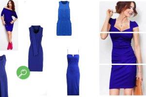 Chabrowa sukienka - z czym ją nosić?