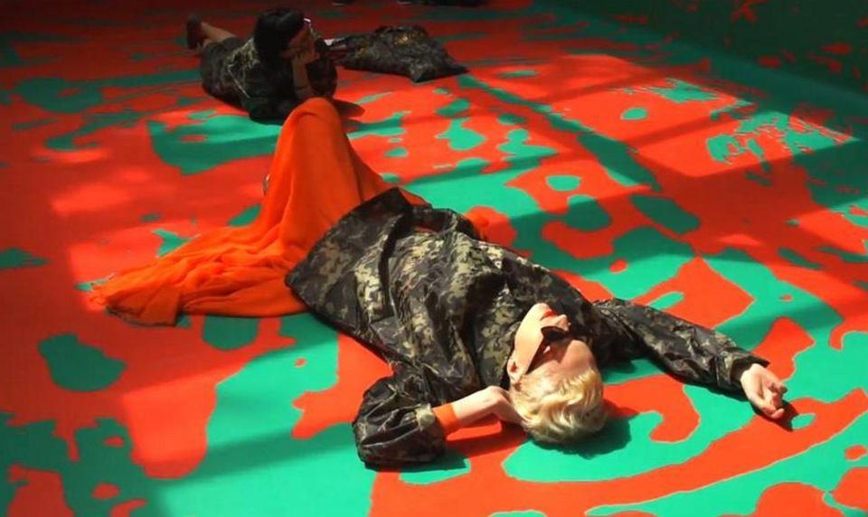 Ukraiński protest w pawilonie rosyjskim na Biennale w Wenecji