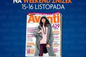 Weekend Zni�ek Avanti: zobacz, jakie sklepy bior� udzia� w akcji 15-16 listopada