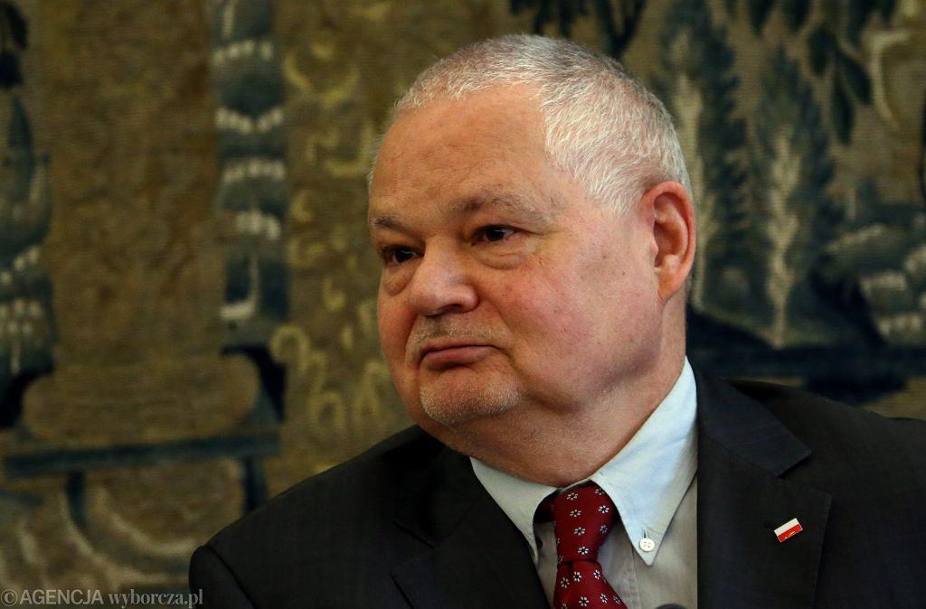 Prezes NBP Adam Glapiński.