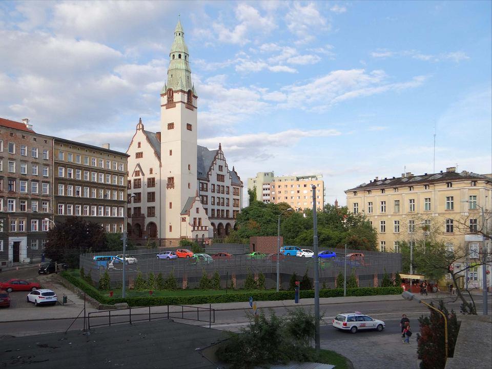 Wizualizacja parkingu między ul. Rybacką a Dworcową