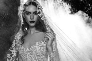 Suknie �lubne Zuhair Murad na jesie� 2016. Koronki i odwa�ne przezroczysto�ci w mrocznej oprawie [ZDJ�CIA]