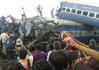Katastrofa kolejowa w Indiach. 20 osób nie żyje, 50 rannych