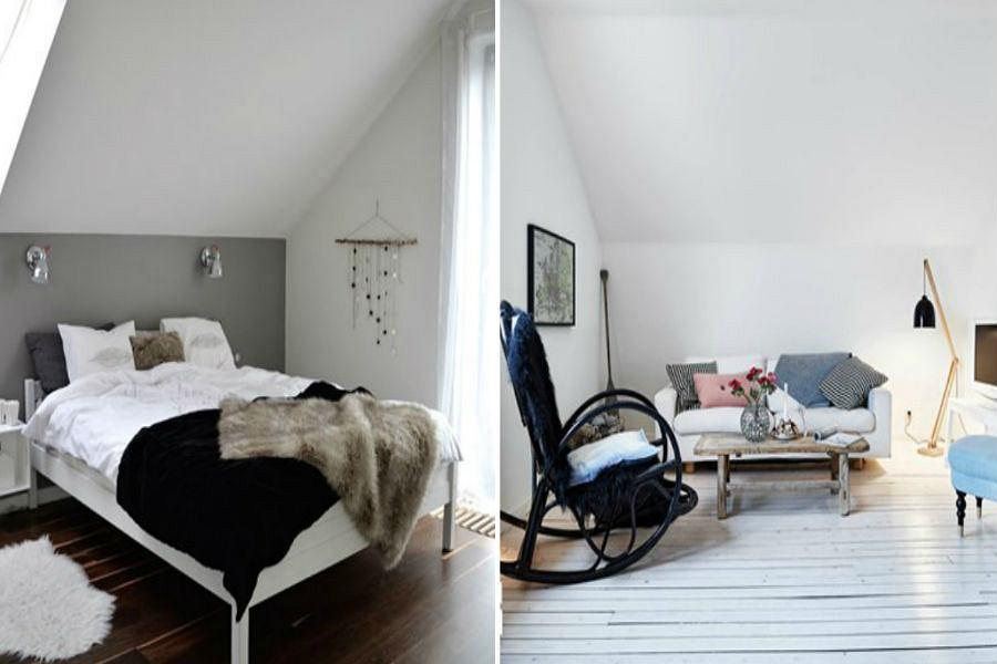 Idealna podłoga do mieszkania do mieszkania w stylu skandynawskim