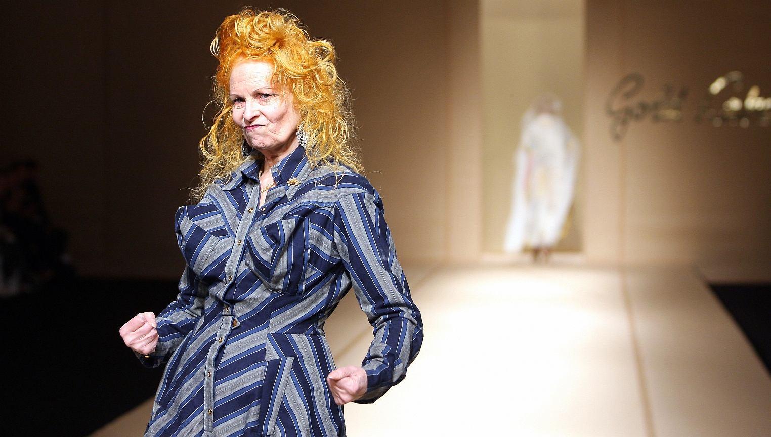 Vivienne Westwood to brytyjska legenda mody i punk rocka