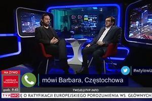 Pani Barbara zadzwoniła do TVP z uwagami. Prowadzący nie utrzymali emocji w ryzach