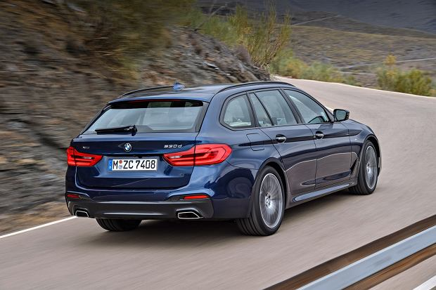 BMW serii 5 Touring | Premium kombi