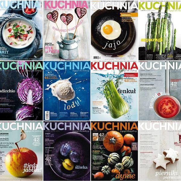 Okładki magazynu KUCHNIA 2014