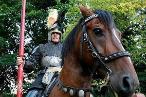Listonosz z Zawiercia od 12 lat dowodzi polską konnicą pod Grunwaldem