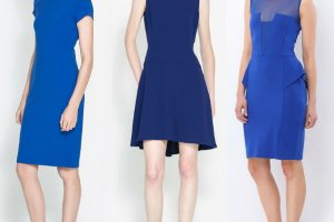 Sukienki w odcieniach niebieskiego
