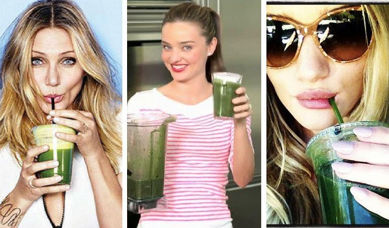 Chcesz schudnąć? Pij zielone koktajle!