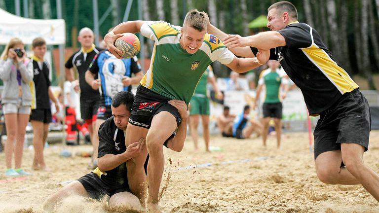 Puchar Polski w rugby plażowym w Olsztynie