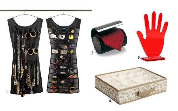 Akcesoria do przechowywania biżuterii