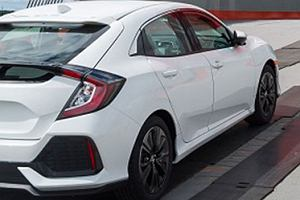 Honda Civic X Hatchback przyłapana!