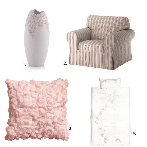 meble do sypialni, styl romantyczny