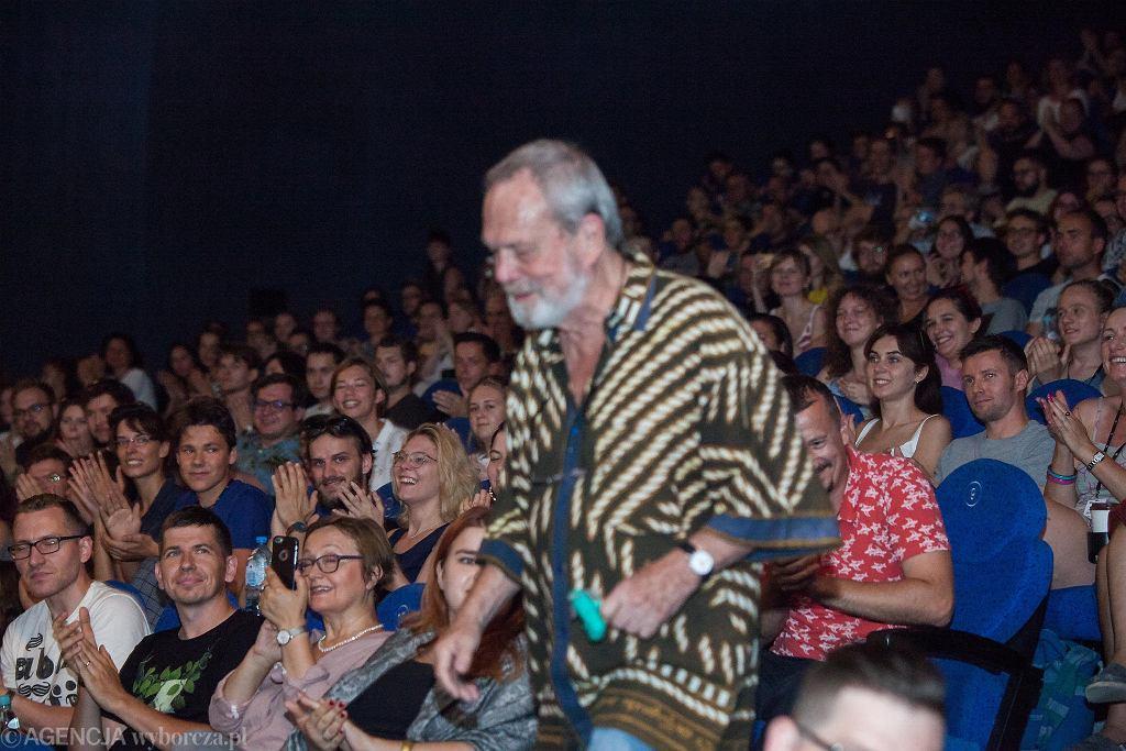 03.08.2018. Terry Gilliam we Wrocławiu na Festiwalu Nowe Horyzonty  / KRZYSZTOF ĆWIK