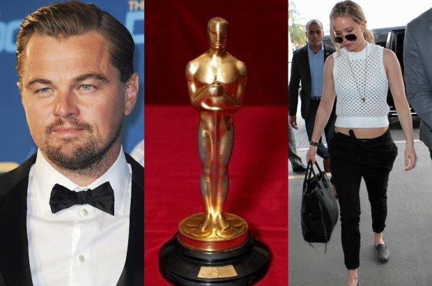 Leonardo DiCaprio, Oscar, Jennifer Lawrence