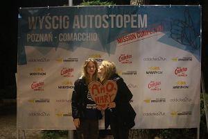 Wyścig Autostopem z Poznania zakończony! 17 godzin 58 minut zajęło zwycięzcom dojechanie do Włoch