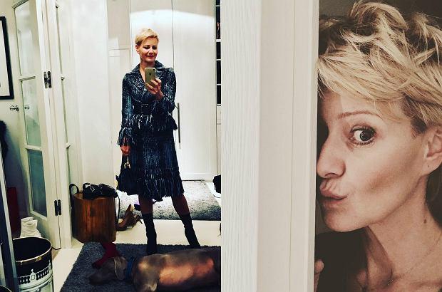 Zdjęcie numer 0 w galerii - Kożuchowska pokazuje, jak można mieszkać nowocześnie i przytulnie! Do tego te piękne, stylowe dodatki