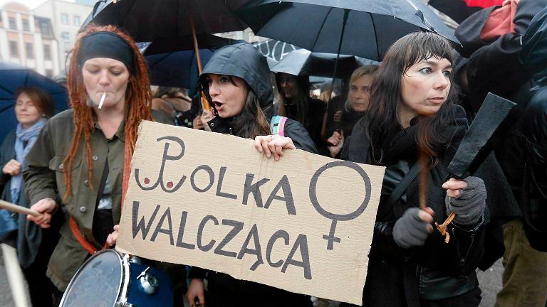 Ogólnopolski Strajk Kobiet, 3 października, Katowice