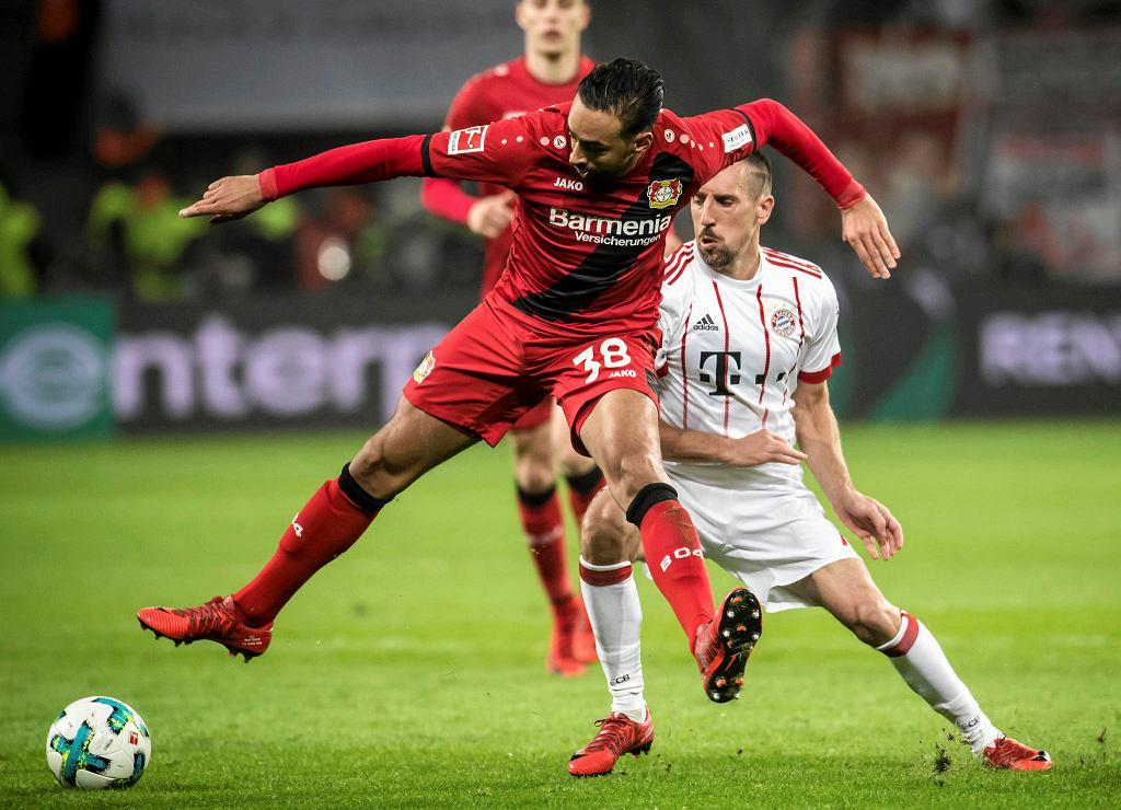 Zdjęcie numer 4 w galerii - Bundesliga. Bayern pokonał Bayer. Lewandowski poza składem