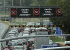 Most otworz�, Wis�ostrada zamkni�ta jeszcze d�ugo?