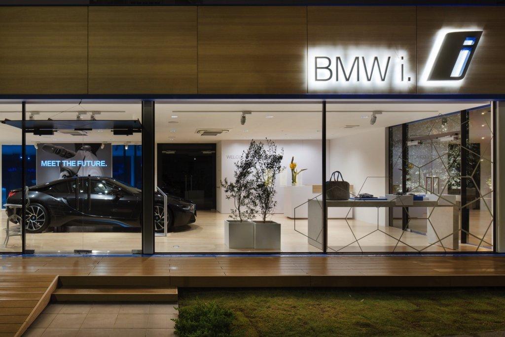 BMW i salon w Japonii