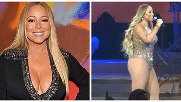Tak szczupłej Mariah Carey jeszcze nie widzieliście