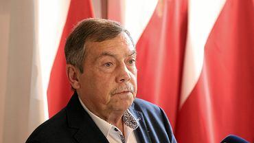 Bartłomiej Sochański - konferencja prasowa przed drugą turą wyborów