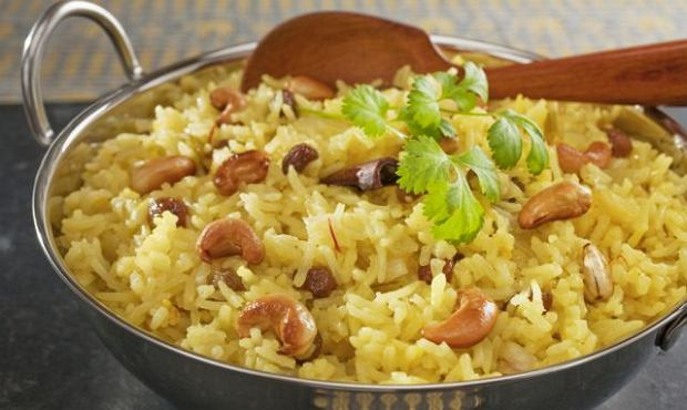 Ryż z indykiem i przyprawy - to na pewno potrawa z przewagą chińskiej Przemiany Metalu
