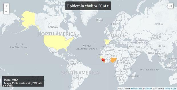 Zobacz, jak Ebola ucieka z Afryki. Wirus zabił już 1900 osób i nie ma na niego leku