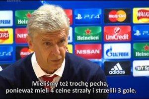 Liga Mistrz�w. Wenger po pora�ce z Olympiakosem: To zdarza si� raz na sto mecz�w