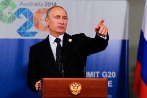 - Ukraina? Przecie� nas tam nie ma - przekonuje Putin lider�w grupy G20
