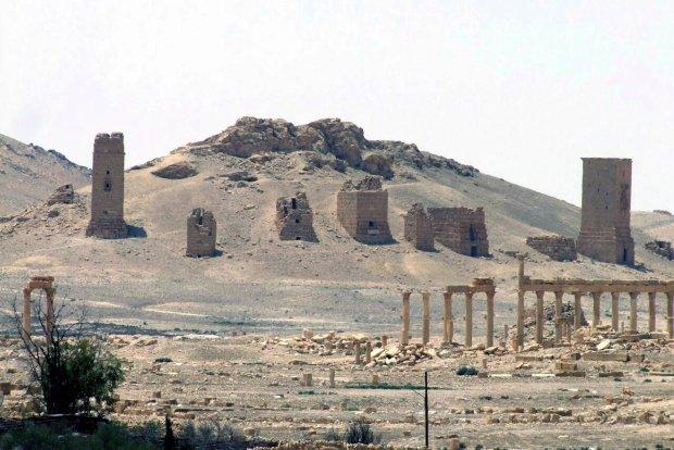 D�ihady�ci w Palmirze. Staro�ytne ruiny w r�kach Pa�stwa Islamskiego