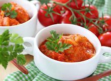 Potrawka z kurczaka i pomidor�w - ugotuj