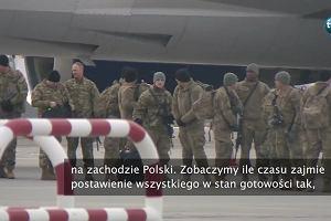 """Grupa amerykańskich żołnierzy w Polsce. """"Jesteśmy dumni, że tu jesteśmy. To zaszczyt"""""""
